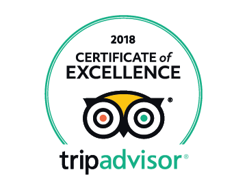 Acorn Glade Trip Advisor Certificate of Excellence 2018